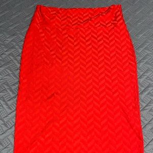 Lularoe True Red Cassie